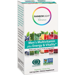 Men's Multi Energy & Vit Org 120 vegcaps Rainbow Light Nutrition