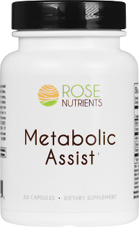 Metabolic Assist - 60 caps Rose Nutrients