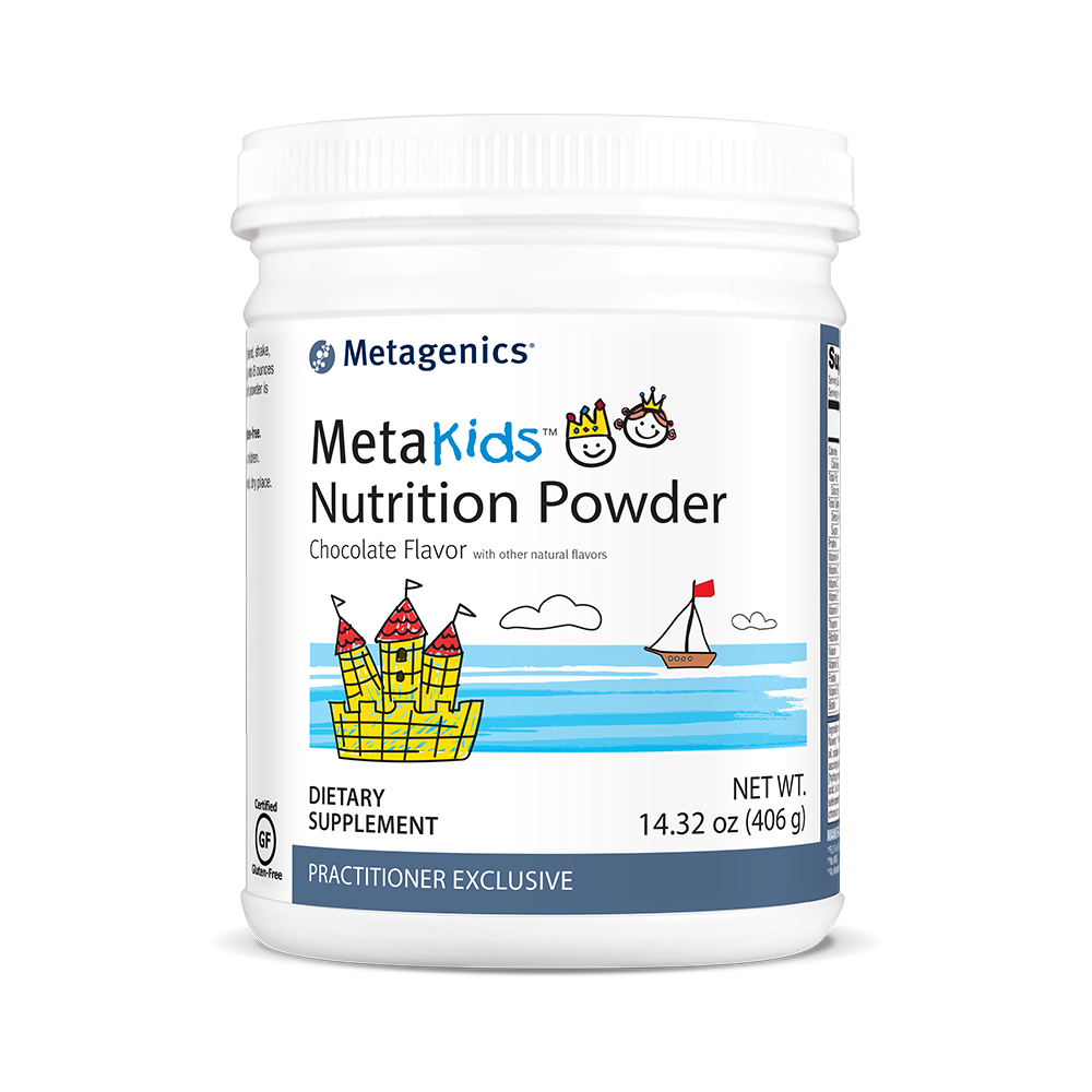 Metagenics MetaKids Nutrition Powder Chocolate - 14 servings