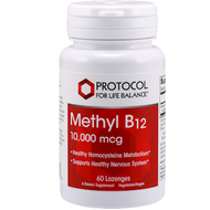 Methyl B12 10,000 mcg 60 lozenges Protocol for Life Balance