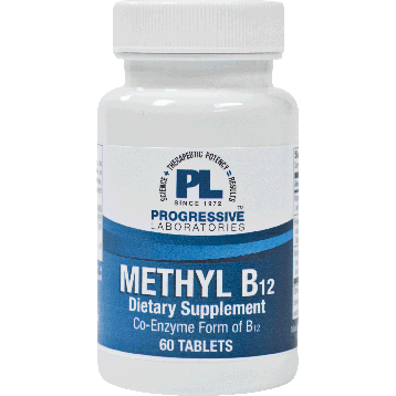 Methyl B12 60 tabs		Progressive Labs