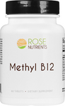 Methyl B12 - 60 tabs Rose Nutrients
