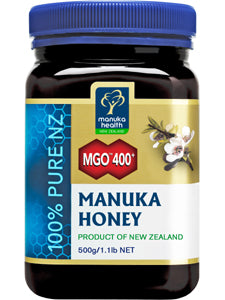 MGO 400+ Manuka Honey 17.6 oz Manuka Health