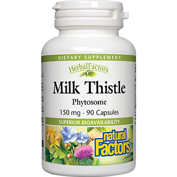Milk Thistle Phytosome 90 caps Natural Factors