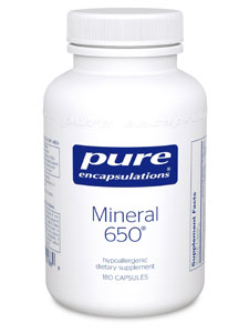 Mineral 650 180 vcaps Pure Encapsulations