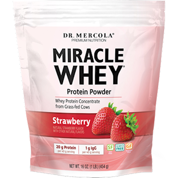 Miracle Whey Strawberry 1 lb