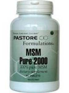 MSM 2000 mg 60 tabs Pastore Formulations
