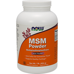 NOW MSM Powder 1 lb