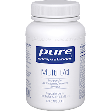 Pure Encapsulations Multi T/D 60 vcaps