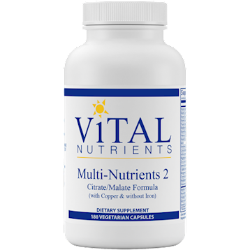 Multi-Nutrients II Citrate Form 180 caps
