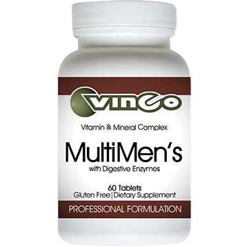 Vinco MultiMen's with Digestive Enzymes 60 tabs