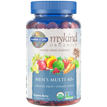 Mykind Mens 40+ Multi-Berry 120 Gummy