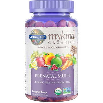 Mykind Prenatal Multi-Berry 120 Gummy