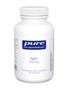 NAC 600 mg 180 vcaps Pure Encapsulations