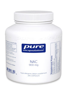 NAC 900 mg 240 vcaps Pure Encapsulations