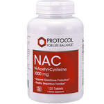 Protocol For Life Balance NAC 1,000mg 120 tabs