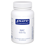 NAC 600 mg 90 vcaps Pure Encapsulations