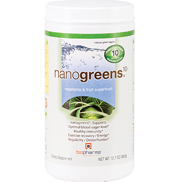 BioPharma Scientific NanoGreens10 12.7 oz