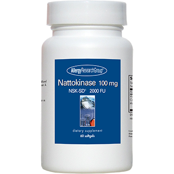 Allergy Research Group Nattokinase 100 mg 60 gels