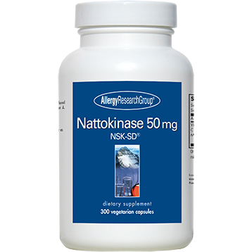 Allergy Research Group Nattokinase 50 mg 300 vcaps