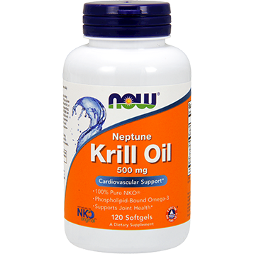 Neptune Krill Oil 500 mg 120 softgels