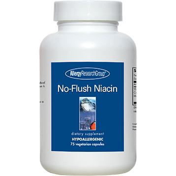 Allergy Research Group NoFlush Niacin 430 mg 75 caps