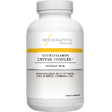 Integrative Therapeutics NutriVitamin Enzyme Compw/o Iron 180cap