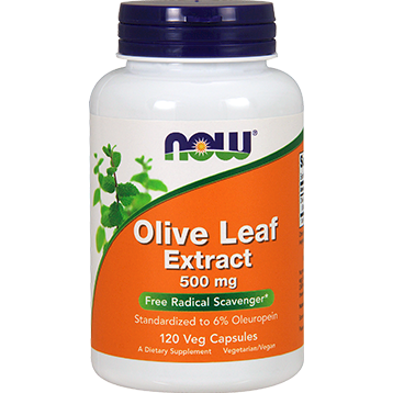 Olive Leaf Extract 500 mg 120 vcaps