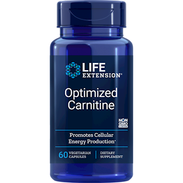 Optimized Carnitine 60 vcaps  Life Extension