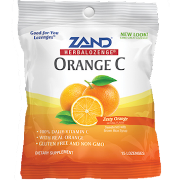 Orange C Herbalozenge 12 bags Zand Herbal