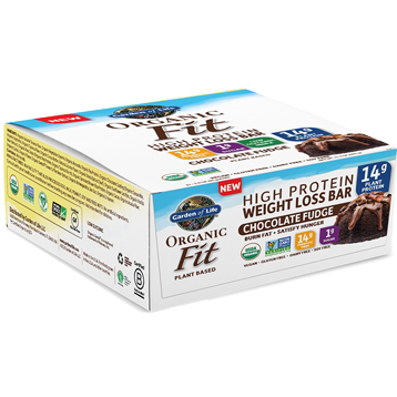 Organic Fit Bar Choc Fudge 12 Bars Garden of Life Sport