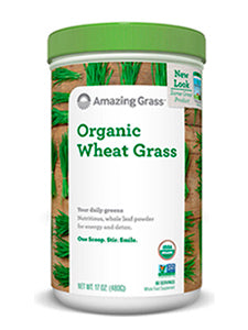 Organic Wheat Grass Powder 17 oz Amazing Grass