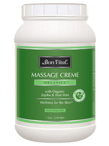 Organica Massage Cream 1 Gal Bon Vital