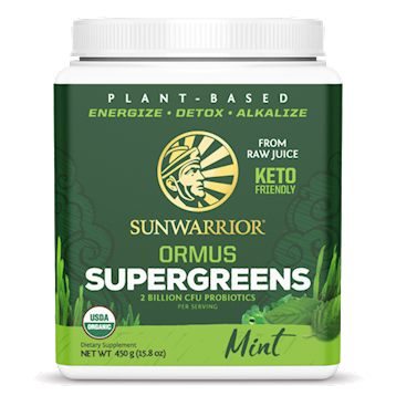 Sunwarrior Ormus Super Greens Mint 1 lb