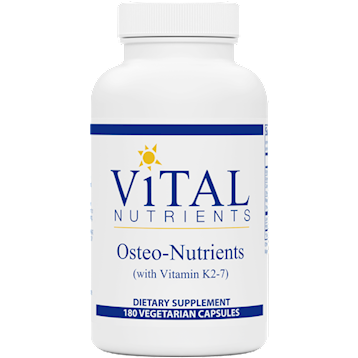 Vital Nutrients Osteo-Nutrients 180 caps