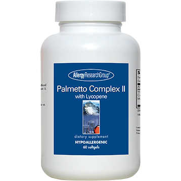 Allergy Research Group Palmetto Complex II 60 gels