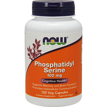 Now Foods Phosphatidyl Serine 100 mg 120 vcaps