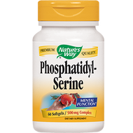 Nature's Way Phosphatidyl Serine 500 mg 60 gels