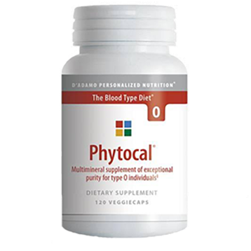 Phytocal O 120 vcaps D'Adamo Personalized Nutrition