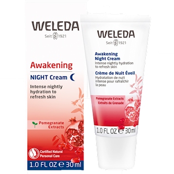 Pomegranate Firming Night Cream 1 oz Weleda Body Care