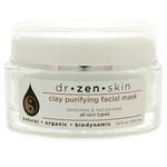 Zen Organics  Pore Refining Facial Clay Mask 3.4oz