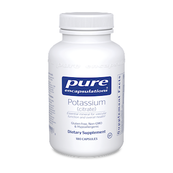 Potassium (citrate) 180 vcaps Pure Encapsulations