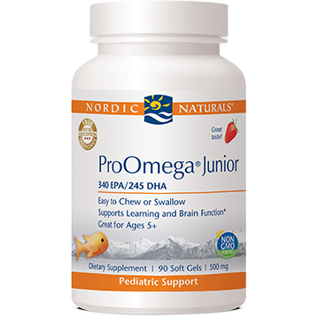 Nordic Naturals ProOmega Junior Strawberry 500mg 90 gel