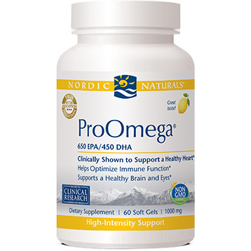 ProOmega Lemon 60 gels