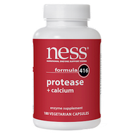 Ness Enzymes Protease w/Calcium #416 180 caps