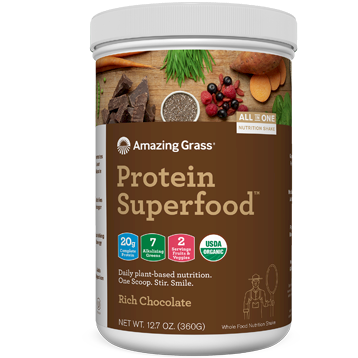 Amazing Grass Protein SuperFood Chocolate 10 srvg
