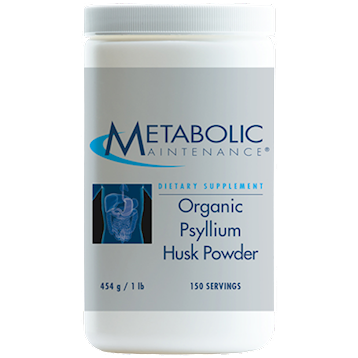 Metabolic Maintenance Psyllium Husk Powder 454 gms