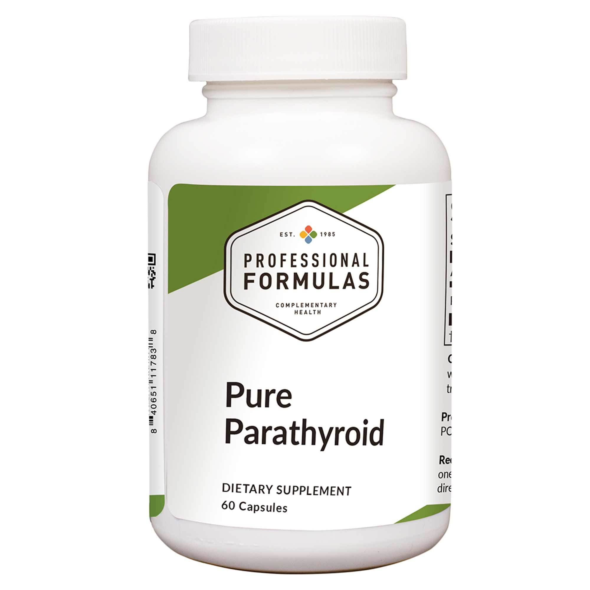 Pure Parathyroid 60c Professional Formulas