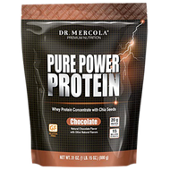 Dr Mercola Pure Power Protein Chocolate 31 oz