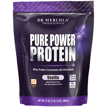 Dr Mercola Pure Power Protein Vanilla 31 oz
